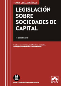 Legislacion Sobre Sociedades De Capital - Aa. Vv.