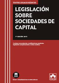 LEGISLACION SOBRE SOCIEDADES DE CAPITAL