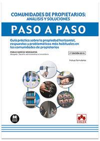 COMUNIDADES DE PROPIETARIOS: ANALISIS Y SOLUCIONES - PASO A PASO