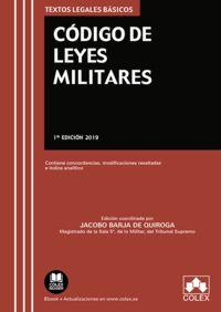 Codigo De Leyes Militares - Jacobo Lopez Barja De Quiroga