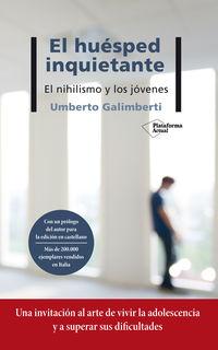 El huesped inquietante - Umberto Galimberti