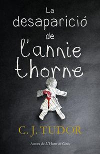 La desaparicio de l'annie thorne - C. J. Tudor
