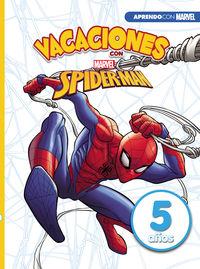 5 AÑOS - VACACIONES CON SPIDERMAN (APRENDO CON MARVEL)