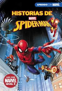 HISTORIAS DE SPIDER-MAN (LEO CON MARVEL - NIVEL 3) - LA VIUDA NEGRA / EL ASOMBROSO INCREIBLE SPIDER-HULK / ATAQUE AL PORTAL DIMENSIONAL