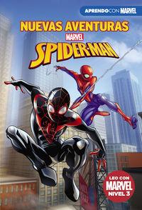 Nuevas Aventuras De Spider-Man (leo Con Marvel - Nivel 3) - Aa. Vv.