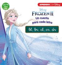 Frozen 2 - Un Cuento Para Cada Grupo Consonantico: Bl, Br, Cl, Cr, Dr (leo Con Disney - Nivel 1) - Aa. Vv.