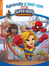 Aprende A Leer Con. .. Spider-Man - Nivel 3 - Aa. Vv.