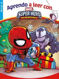 Aprende A Leer Con. .. Spider-Man - Nivel 4 - Aa. Vv.