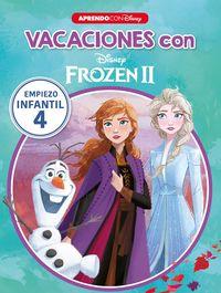 3 Años - Vacaciones Con Frozen Ii - Libro Educativo Disney Con Actividades - Disney