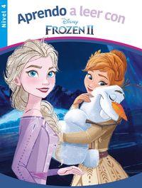 Frozen Ii - Nivel 4 - Aprendo A Leer Con Disney - Disney