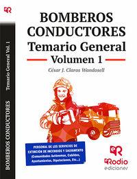 TEMARIO GENERAL 1 - BOMBEROS CONDUCTORES