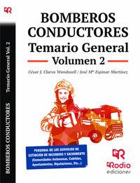 TEMARIO GENERAL 2 - BOMBEROS CONDUCTORES