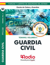 TEMARIO 4 - GUARDIA CIVIL - ESCALA DE CABOS Y GUARDIAS