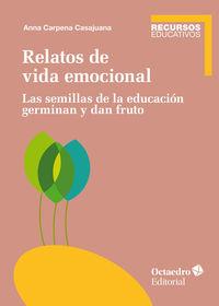 Relatos De Vida Emocional - Las Semillas De Educacion Germinan Y Dan Fruto - Anna Carpena Casajuana