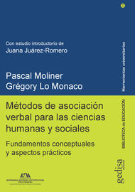 Metodos De Asociacion Verbal Para Las Ciencias Humanas Y Sociales - Fundamentos Conceptuales Y Aspectos Practicos - Pascal Moliner / Gregory Lo Monaco