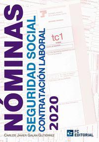 NOMINAS - SEGURIDAD SOCIAL - CONTRATACION LABORAL 2020