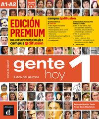 GENTE HOY 1 (+CD) (ED. PREMIUM)