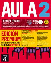 Aula 2 (a2) (+audio-Mp3) (ed. Premium) - Neus Sans (coord. )