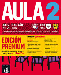 AULA 2 (A2) (+AUDIO-MP3) (ED. PREMIUM)