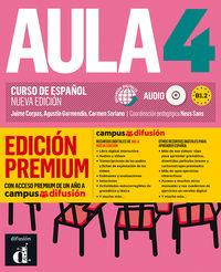 Aula 4 (b1.2) (+audio-Mp3) (ed. Premium) - Neus Sans (coord. )