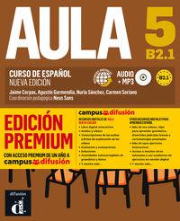 Aula 5 (b2.1) (+audio-Mp3) (ed. Premium) - Neus Sans (coord. )