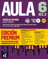 Aula 6 (b2.2) (+audio-Mp3) (ed. Premium) - Neus Sans (coord. )