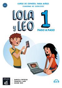LOLA Y LEO PASO A PASO 1 (A1.1) CUAD.