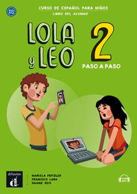 LOLA Y LEO PASO A PASO 2 (A1.1-A1.2)