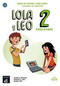 LOLA Y LEO PASO A PASO 2 (A1.1-A1.2) CUAD.