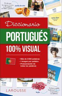 Diccionario De Portugues 100% Visual - Aa. Vv.
