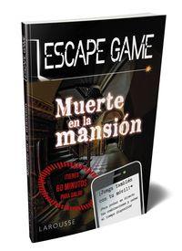 Escape Game - Muerte En La Mansion - Aa. Vv.