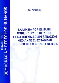 LUCHA POR EL BUEN GOBIERNO Y EL DERECHO A UNA BUENA ADMINISTRACION, LA