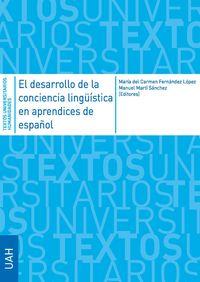 DESARROLLO DE LA CONCIENCIA LINGUISTICA EN APRENDICES DE ESPAÑOL, EL