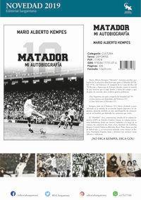 MATADOR - MI AUTOBIOGRAFIA