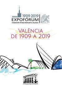 VALENCIA DE 1919 A 2019