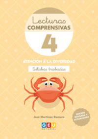 (4 ED) LECTURAS COMPRENSIVAS 4