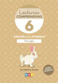 (4 ED) LECTURAS COMPRENSIVAS 6