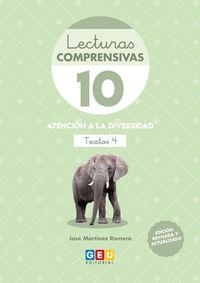 (4 ED) LECTURAS COMPRENSIVAS 10