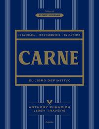 Carne - El Libro Definitivo - Anthony Puharich / Libby Travers