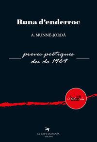 RUNA D'ENDERROC - PROVES POETIQUES DES DE 1969