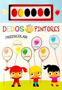 Dedos Pintores Preescolar (libro Azul) - Cecile Marbehant / Fhiona Galloway (il. )