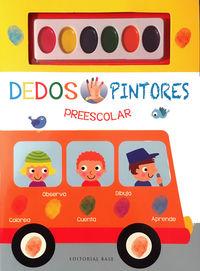 Dedos Pintores Preescolar (libro Amarillo) - Cecile Marbehant / Fhiona Galloway (il. )