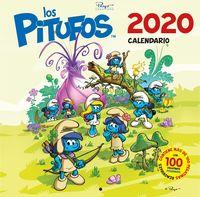 CALENDARIO LOS PITUFOS 2020