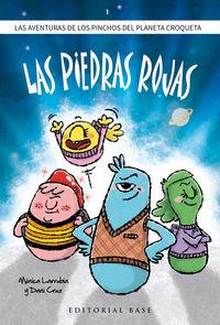 LOS PINCHOS DEL PLANETA CROQUETA 1 - LAS PIEDRAS ROJAS