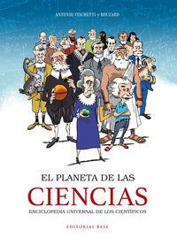 PLANETA DE LAS CIENCIAS, EL - ENCICLOPEDIA UNIVERSAL DE LOS CIENTIFICOS