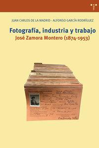 FOTOGRAFIA, INDUSTRIA Y TRABAJO - JOSE ZAMORA MONTERO (1874-1953)