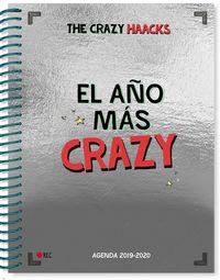 Agenda Curso 2019-2020 - El Año Mas Crazy - The Crazy Haacks