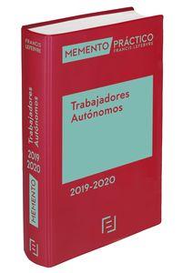 MEMENTO TRABAJADORES AUTONOMOS 2019-2020