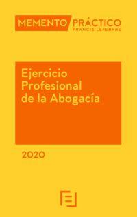 MEMENTO EJERCICIO PROFESIONAL DE LA ABOGACIA 2020