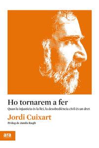 Ho Tornarem A Fer - Jordi Cuixart I Navarro